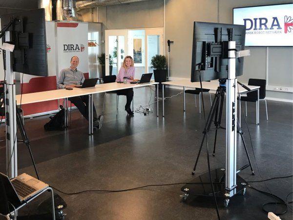 DIRA's virtuelle årsmøde blev forleden styret igennem af sekretariatschef Søren Peter Johansen og Kathrine Viskum.