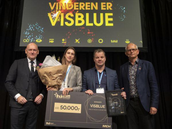 Vinderen af 2019-prisen var det århusianske flowbatterifirma Visblue.
