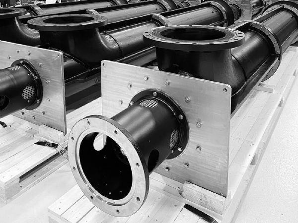 PE-pumperne fra Lykkegaard A/S er fremstillet i det ekstremt slidstærke materiale HDPE.