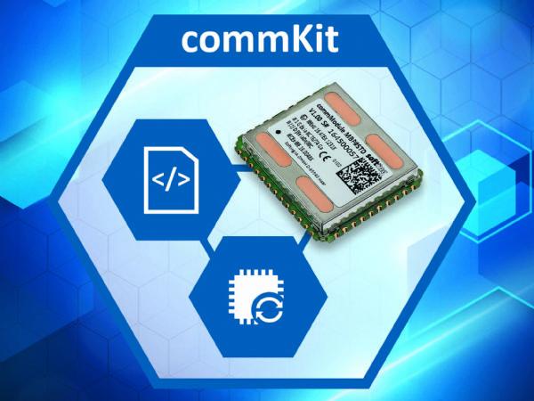 Nem eftermontering af HART- og Modbus-enheder i procesindustrien med commKit (Illustration: Softing Industrial Automation)