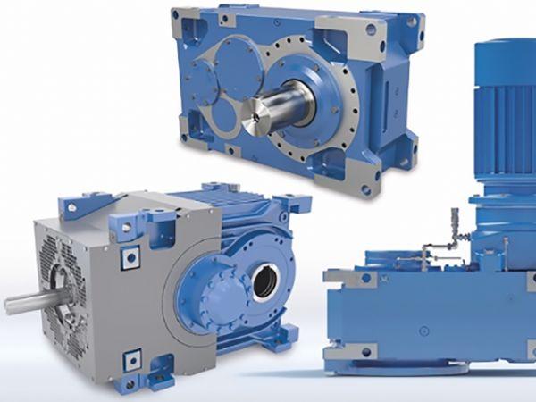 Eksempler på industrielle gear fra Nord Drivesystems.