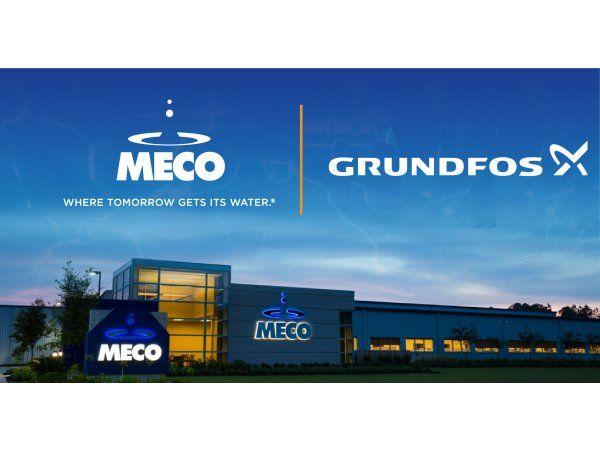 Grundfos  meddeler, at Bjerringbro-koncernen har indgået aftale om opkøb af det førende vandteknologiselskab MECO, der har sit hovedsæde i USA.